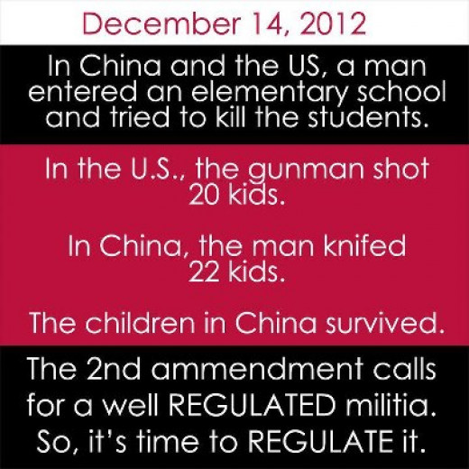 Stop Ridiculous Excuses: Knives (and Cars..) Aren't Guns..