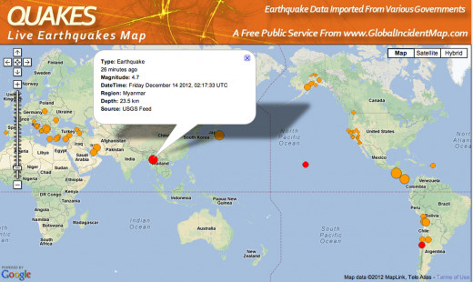 The Myanmar region of the World is sinking due to rising ocean levels and earthquakes.