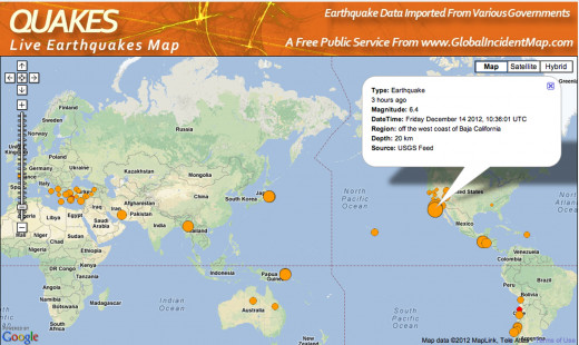 This large earthquake off the coast of California was overshadowed by the recent school shooting, coincidence?