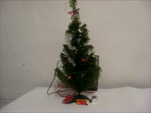 Christmas Tree with LEDs