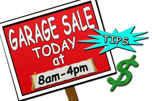 Making a good clear and easy to read Garage Sale sign can bring in the customers by the car load!