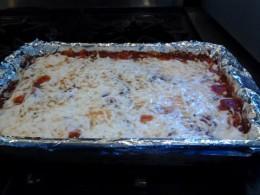 My fancy Ravioli casserole