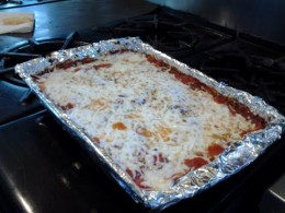 Another pic of my fancy Ravioli casserole