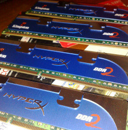 RAM Memory before being installed onto the motherboard