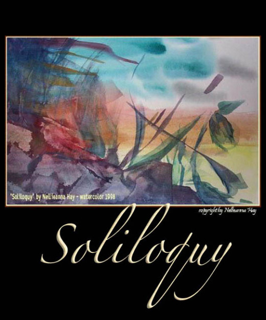 """Soliloquy"" - watercolor by  Nellieanna Hay"