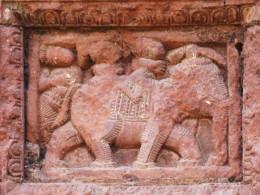 Elephant; terracotta, Maluti
