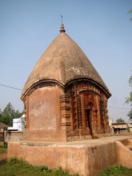 A solitary temple; Maluti