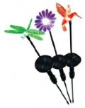 STI Chameleon Solar-Powered Light Stick, Dragonfly / Snowman