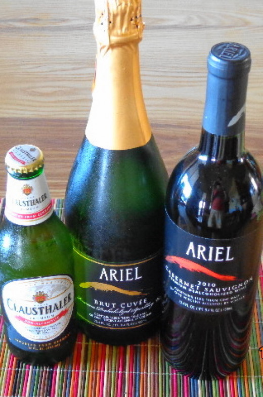 There are high-quality non-alcoholic alternatives available for those that choose...