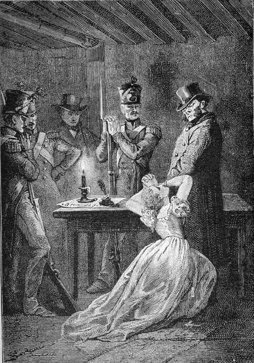 "Illustration by Gustave Brion for Hugo's ""Les Misérables"""