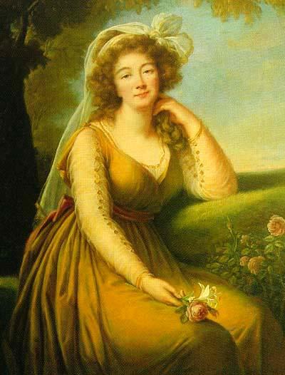 Élisabeth-Louise Vigée Le Brun's portrait of Madame du Barry