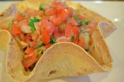 Tortilla Shell Salad Bowl Recipe Ideas