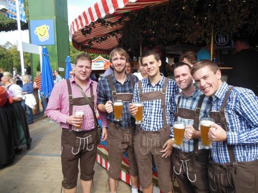 Oktoberfest 2012-Franco-Germanic-Americano wolfpack