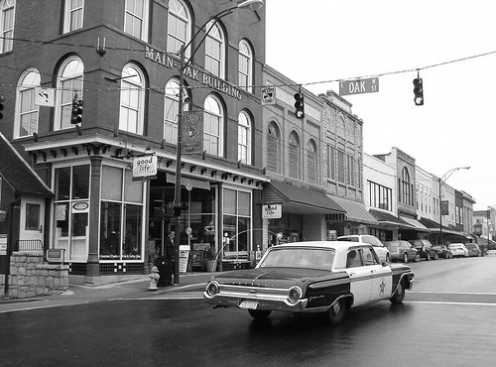 Downtown Mayberry (Mt. Airy NC). The thought of simpler times can be magnetic. Visit Mt. Airy and see all the sites maintained as Mayberry history.