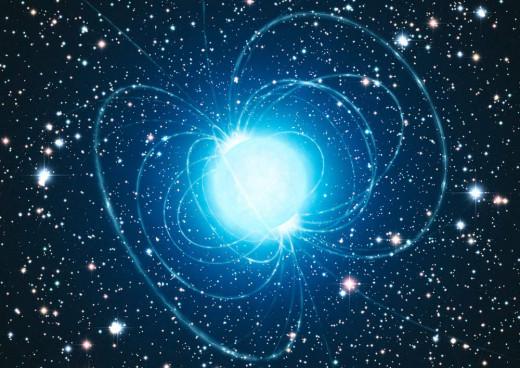 Artist's impression of a Neutron Star