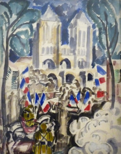 Charles Georges Dufresne (1876-1938), Noyon, 1917