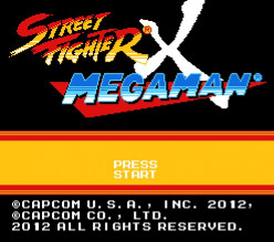 Street Fighter X MegaMan -  fan developed game, endorsed by Capcom. My initial thoughts