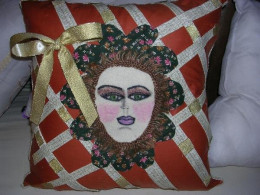 Original pillow by Rosana Modugno