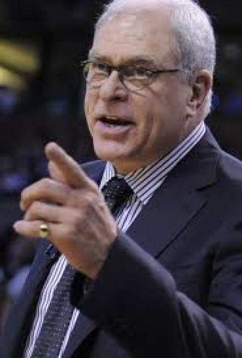 Phil Jackson won championships with the Chicago Bulls and the L.A. Lakers.