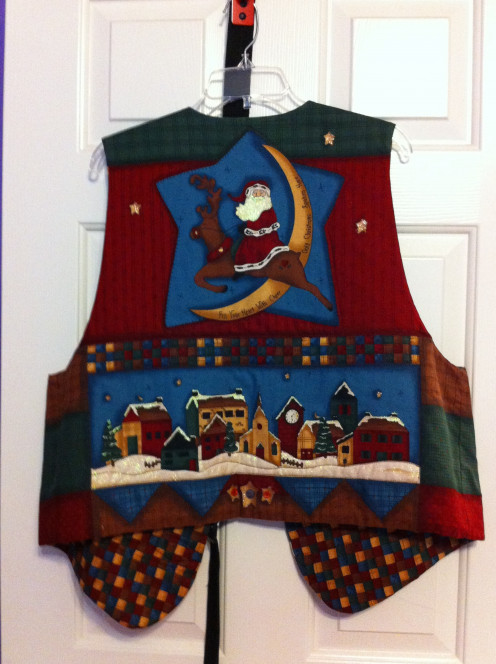 Ugly Sweater Vest (back)