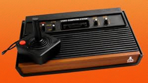 The original Atari 2600 came with one joystick. Over the years the console changed it's look three other times under the 2600 moniker.
