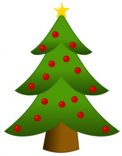 A Christmas Tree Symbol of Christmas