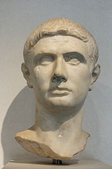 Marble bust of Brutus.