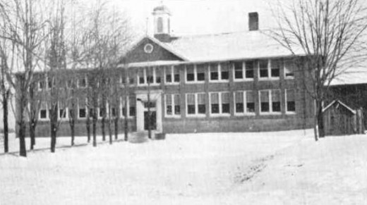 Bath Consolidated School, the site of the worst school massacre in American history, in 1927. This tragedy involved bombing, not shooting.