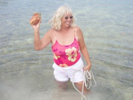 Finding a conch shell