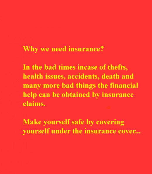 Why we need insurance?