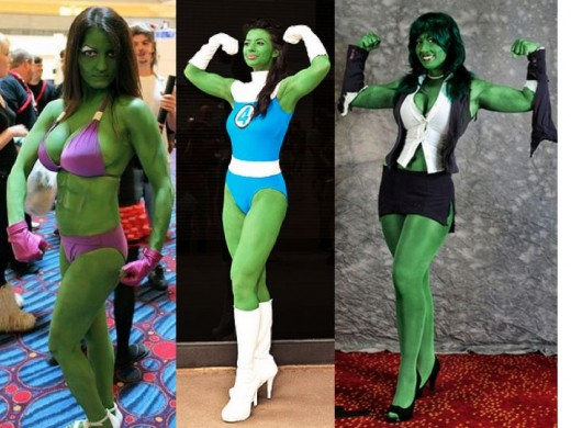 Alternate She Hulk Cosplay Costumes
