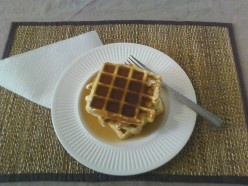 Quick & Easy Fortified Waffles/Pancakes