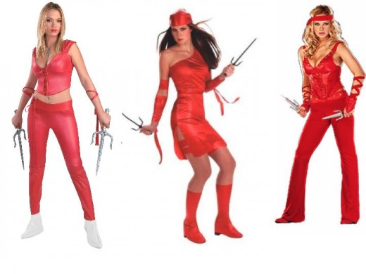Elekta Halloween Costumes Elektra Marvel Costume
