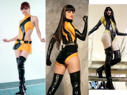 Silk Spectre Cosplay Costumes  sc 1 st  HobbyLark & Silk Spectre Costume History | HobbyLark