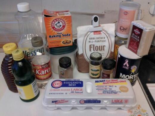 Pfeffernusse ingredients