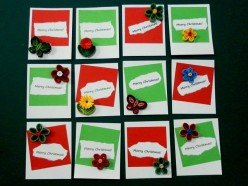 Paper Quilling - How To Make Christmas Gift Tags With Paper Quilling Designs And Patterns