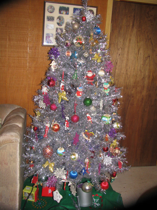 The tinsel tree