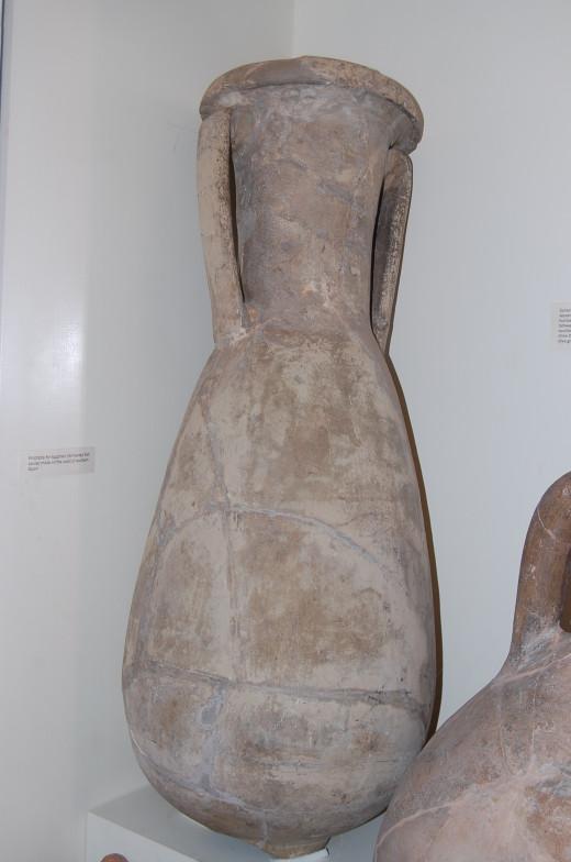 Amphorae from Verulamium Museum