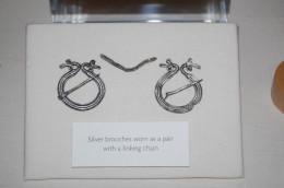 Silver brooch from Verulamium Museum
