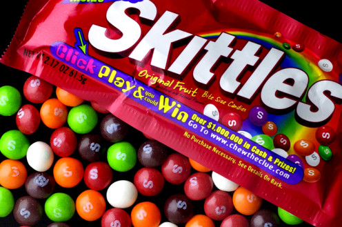 Skittles candy is the #1 stocking stuffer this Christmas