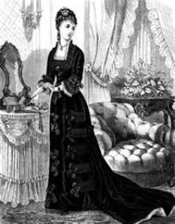 Women's Victorian Fashion Illustrations