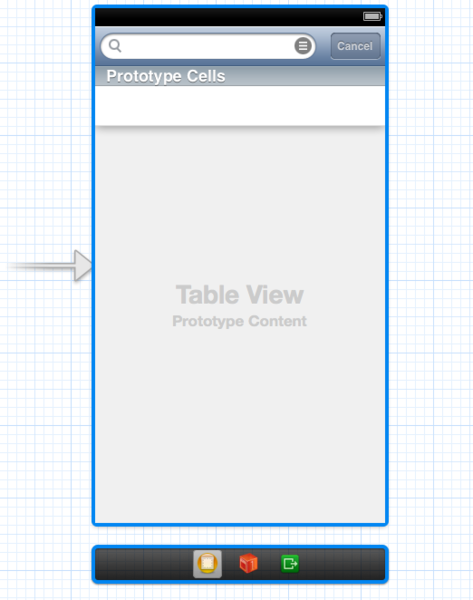 The UI Layout for the App