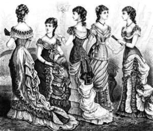 women's victorian fashion
