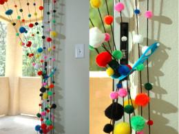 Color cotton balls