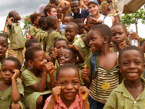 It may seem they have nothing but in reality, these happy kids have more.