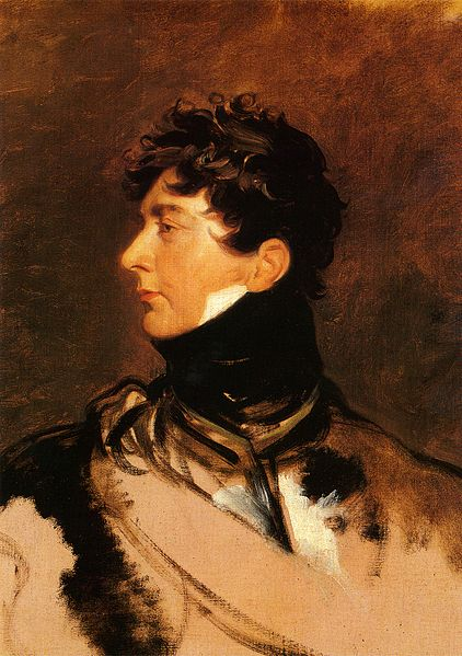 The Prince Regent painted around 1814.