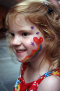 Face Painting Children: Using Hearts
