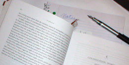 Whether summarizing your own writing or someone elses's, it's best to only hit the hightlighs.