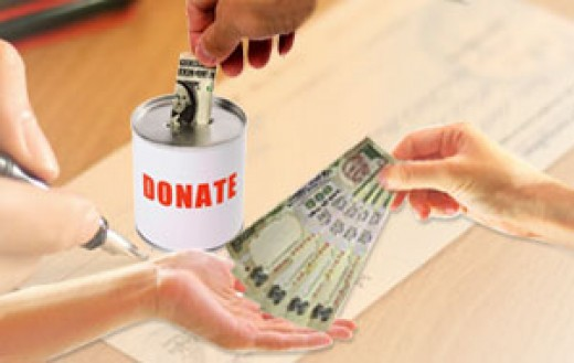 DONATION IN INDIA.
