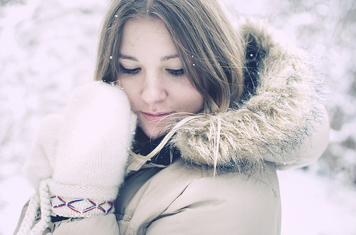 Wintery girl names combine strength and sweetness.